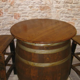 30 inch solid wood bistro top