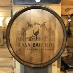 Casa Bucchus Custom Double Ring Barrel Head