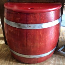 Half Barrel Storage Bin