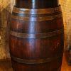 """30""""D x 42H Mingling Full Barrel Bistro Table"""