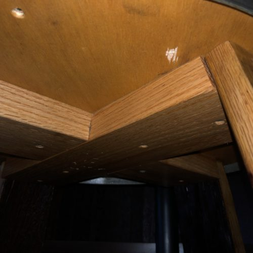 Ring Side Table Underside