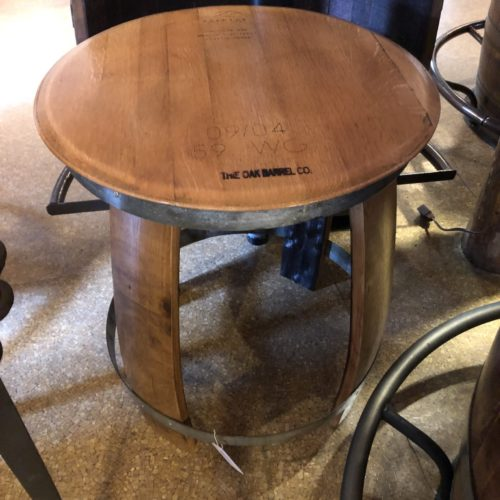Ring Side Table (Lt. Coffee Finish)